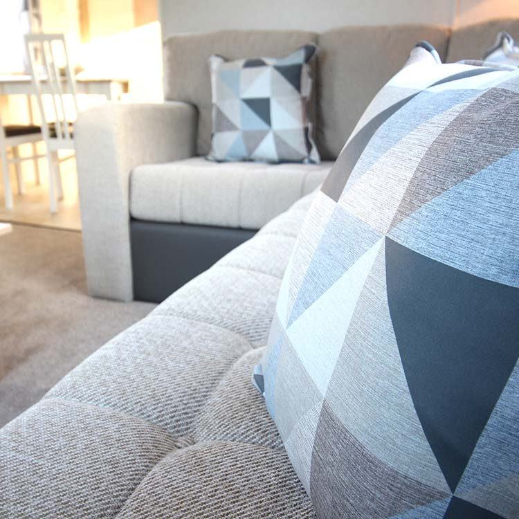 Soft furnishings for the leisure industry